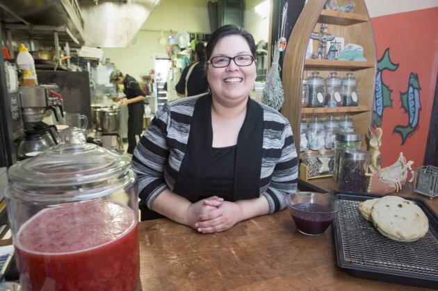 Photo of Tina Ottereyes, Manager of Tea n Bannock