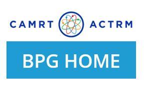 CAMRT Best Practice Guidelines website