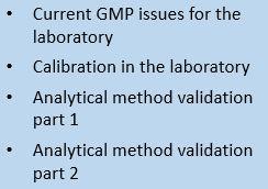 Laboratory cGMP video series (Title Cover Art)