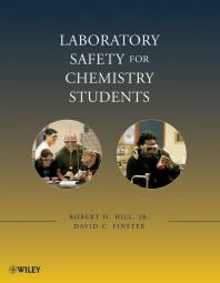 """Laboratory safety for chemistry students"" (Book Cover Art)"