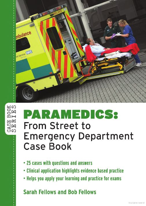 Paramedics: from street to emergency department: case book (Cover Art)