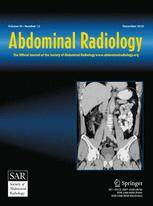 Cover Art for Adominal Radiology