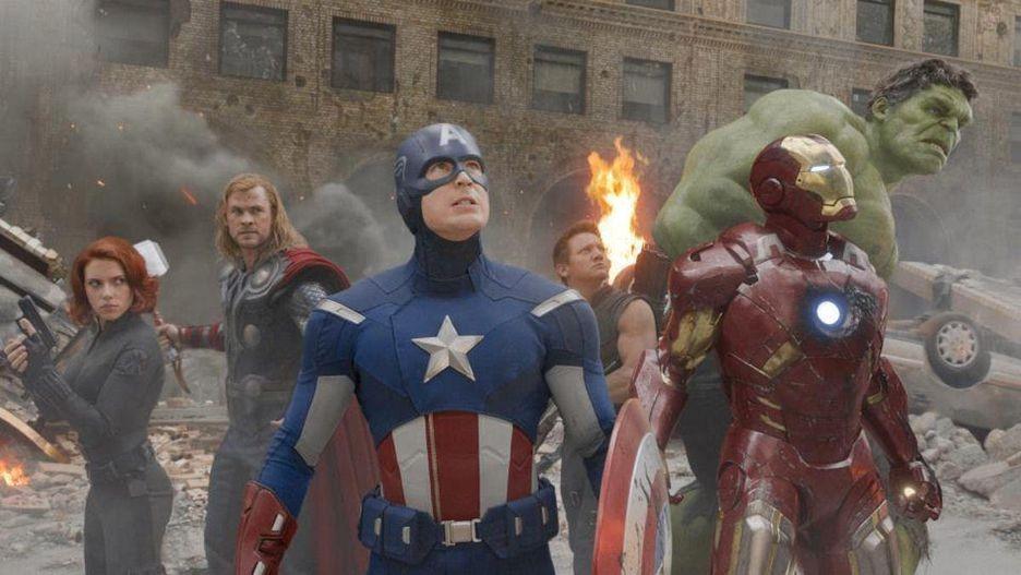 Avengers (2012) screen capture