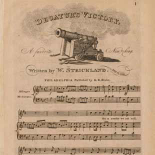 Early American Sheet Music