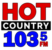 Hot Country 105.3 FM logo