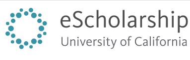 University of California eScholarship logo