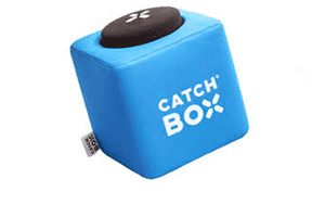Catchbox throwable microphone