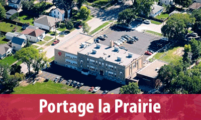 Find a classroom at the Portage Campus