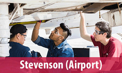 Find a classroom at the Stevenson (Airport) Campus