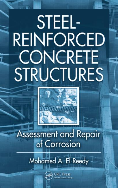 "Cover art for ""Steel Reinforced Concrete Structures"" by Mohamed A. El-Reedy"