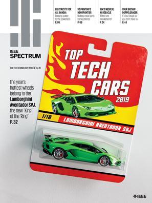 Cover art for IEEE Spectrum