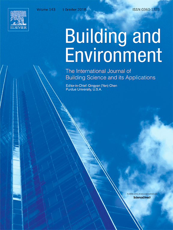 cover art for Building and Environment