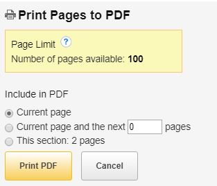ebook printing options