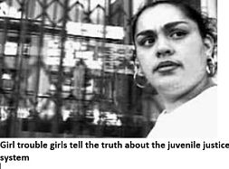 dvd cover title, Girl trouble girls tell the truth about the juvenile justice system