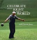 dvd cover title, Celebrate what's right with the world