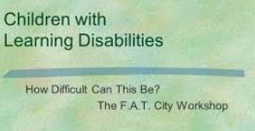 dvd cover title, How Difficult Can This Be? F.A.T. City- A Learning Disabilities Workshop
