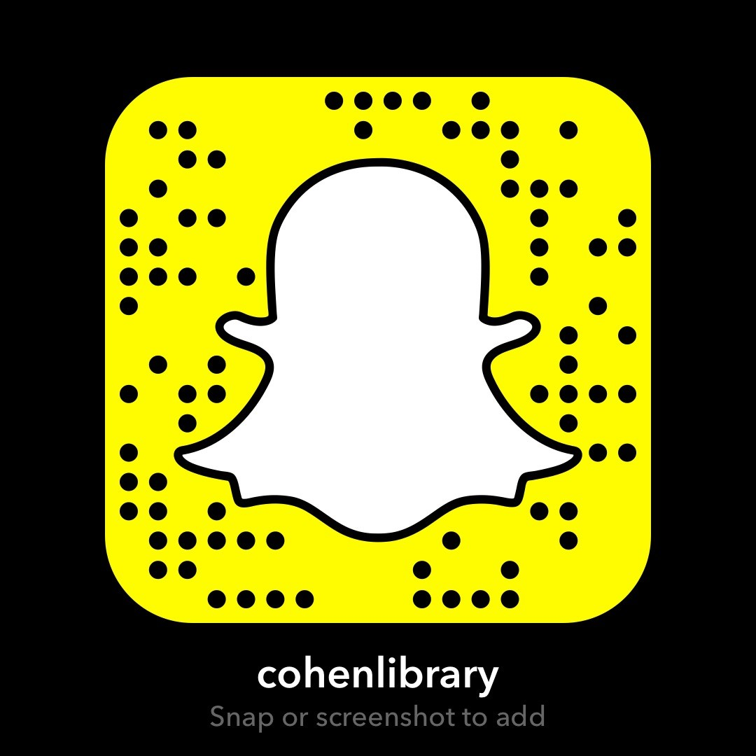 snapchat - cohenlibrary