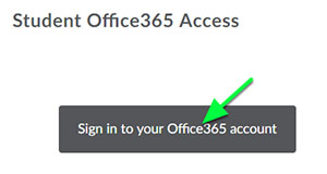Click the widget to sign in to  you Office 365 Account