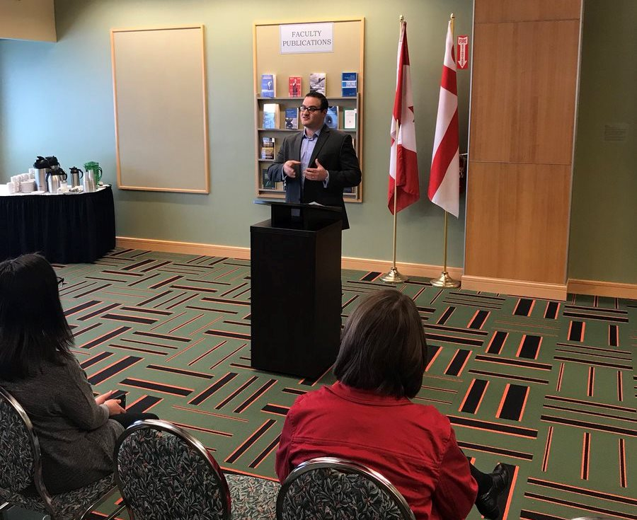 Dr. Lachlan MacKinnon talks about his contributions to his new book