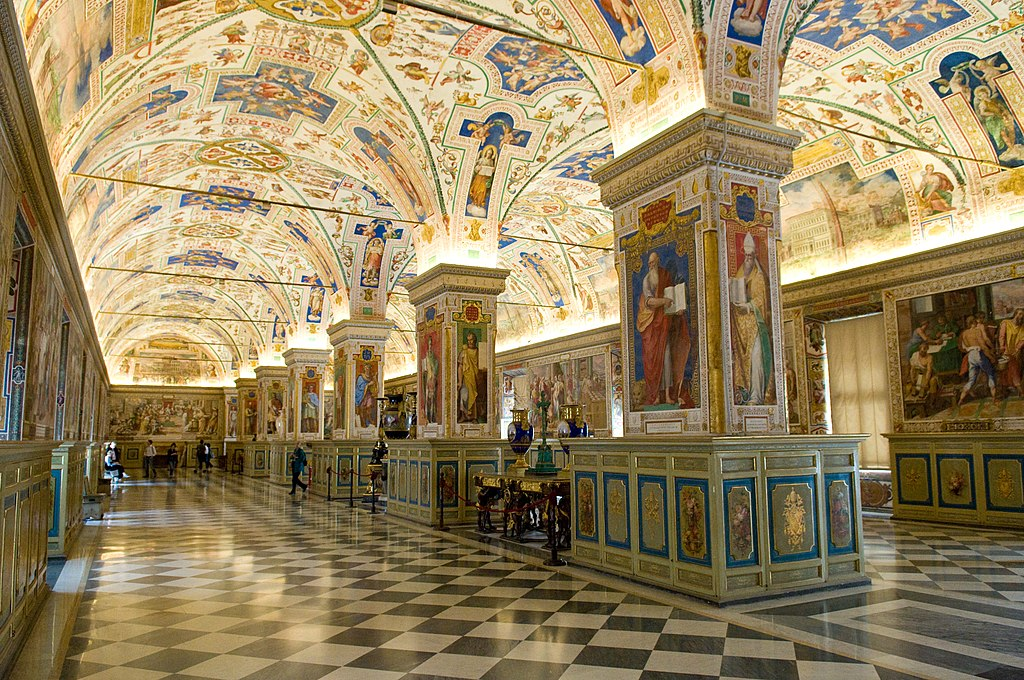 The Sistine Hall of the Vatican Library (Image)