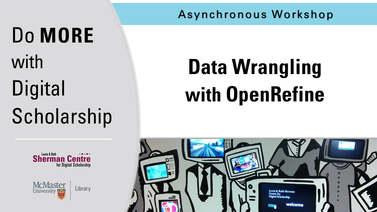DMDS: Data Wrangling with OpenRefine