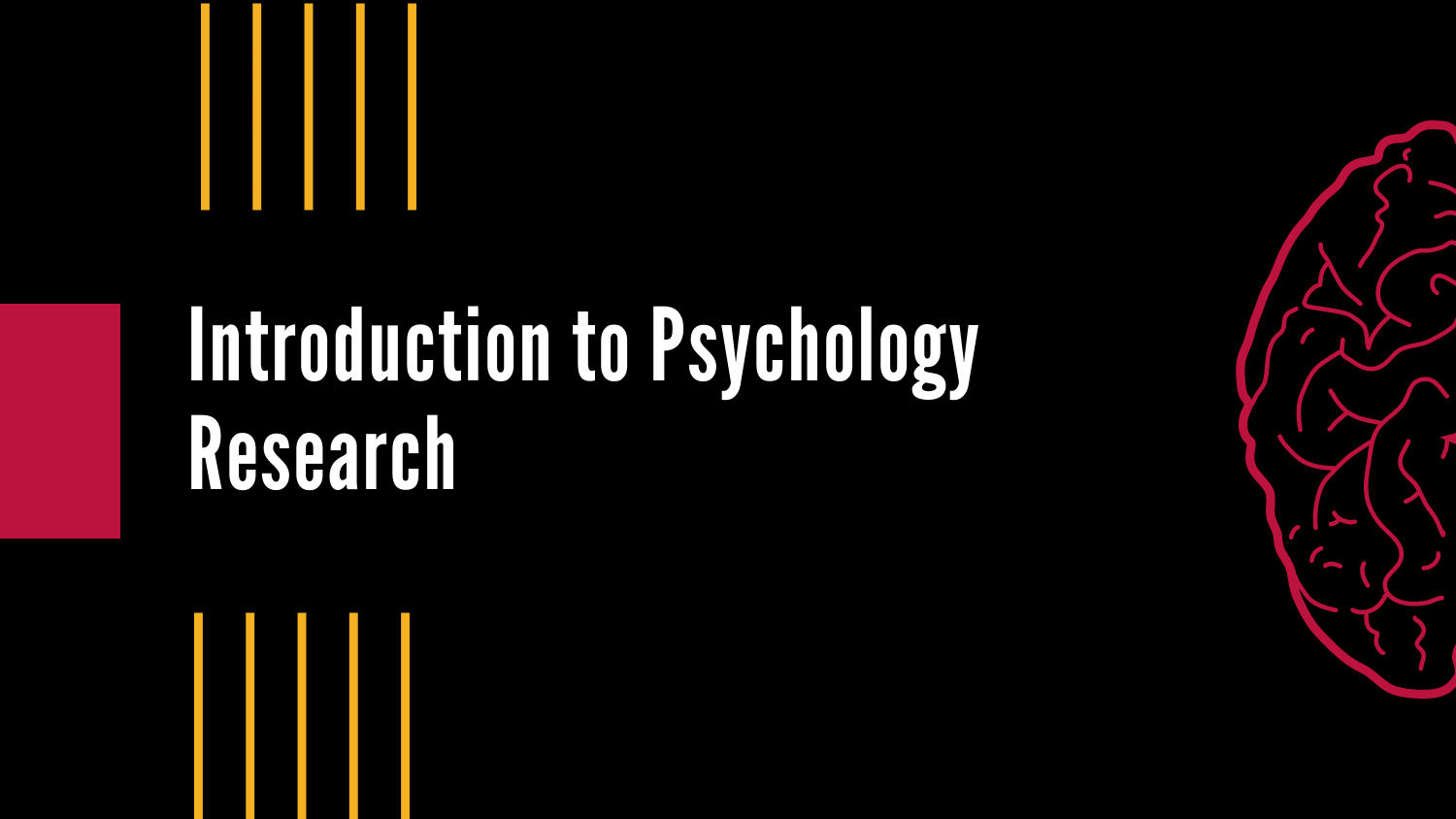 Introduction to Psychology Research Cover Image