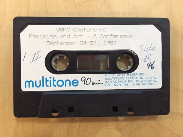 Image of cassette from audio collection