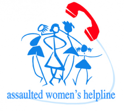 Assaulted Women's Hotline logo