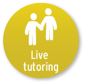 The Live Tutoring button.