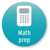 The Math Prep tool button.
