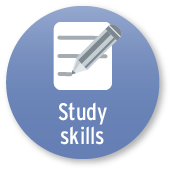 The Study Skills tool button.