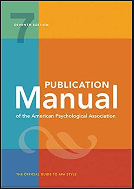 APA Manual (cover image)