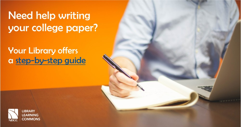 Do you need help writing you paper?  Check out this guide
