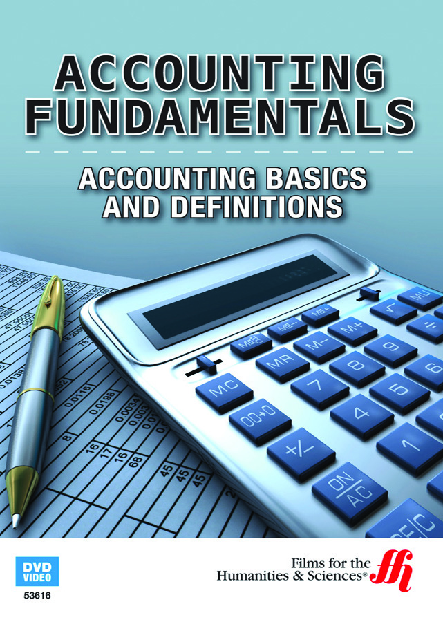 Cover Art for Accounting Fundamentals: Accounting Basics and Definitions by Films for the Humanities & Sciences