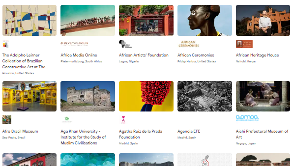 Google Arts & Culture Museum Tours
