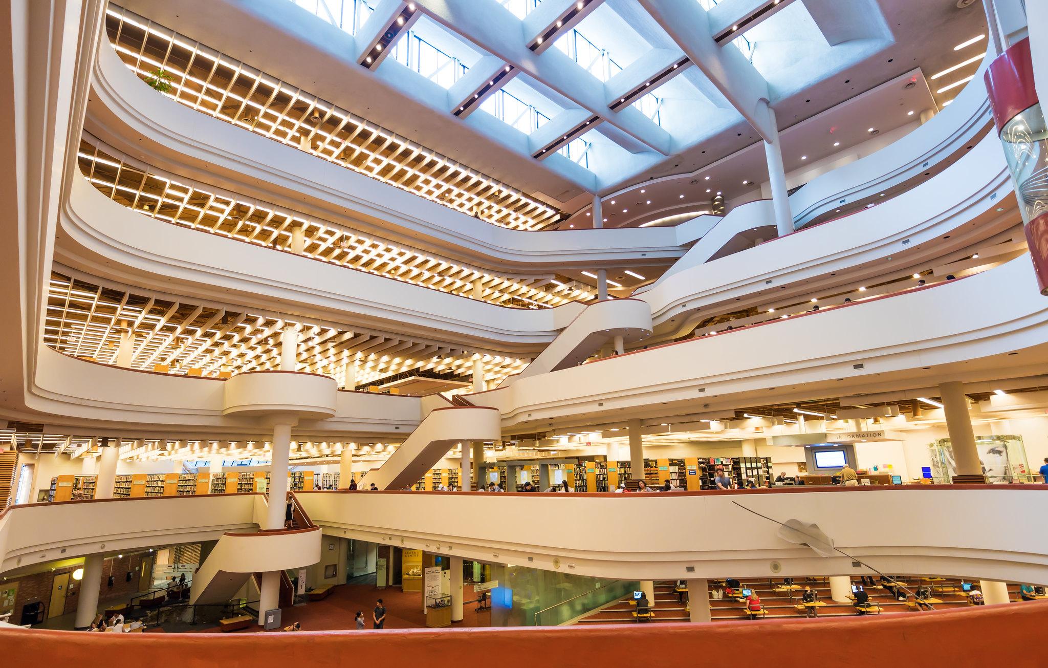 Toronto Reference Library Atrium