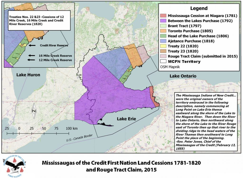 Treaty lands and Territory of the Mississaugas of the Credit First Nation