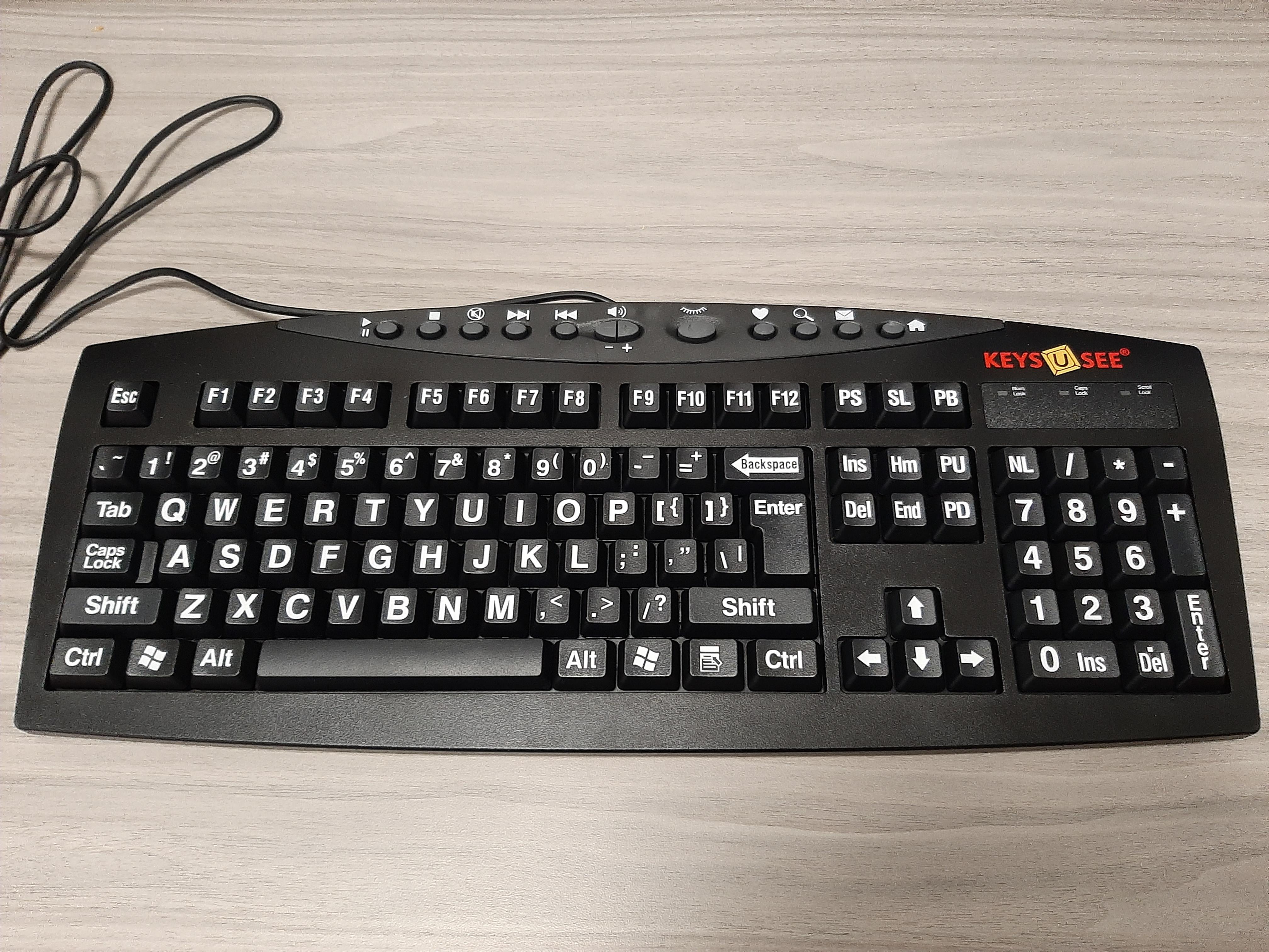 Keys-U-See Keyboard
