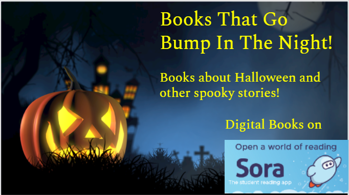 Books That Go Bump In The Night!  Books about Halloween and other spooky stories! Digital Books on
