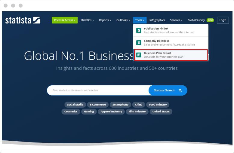 tool menu screenshot