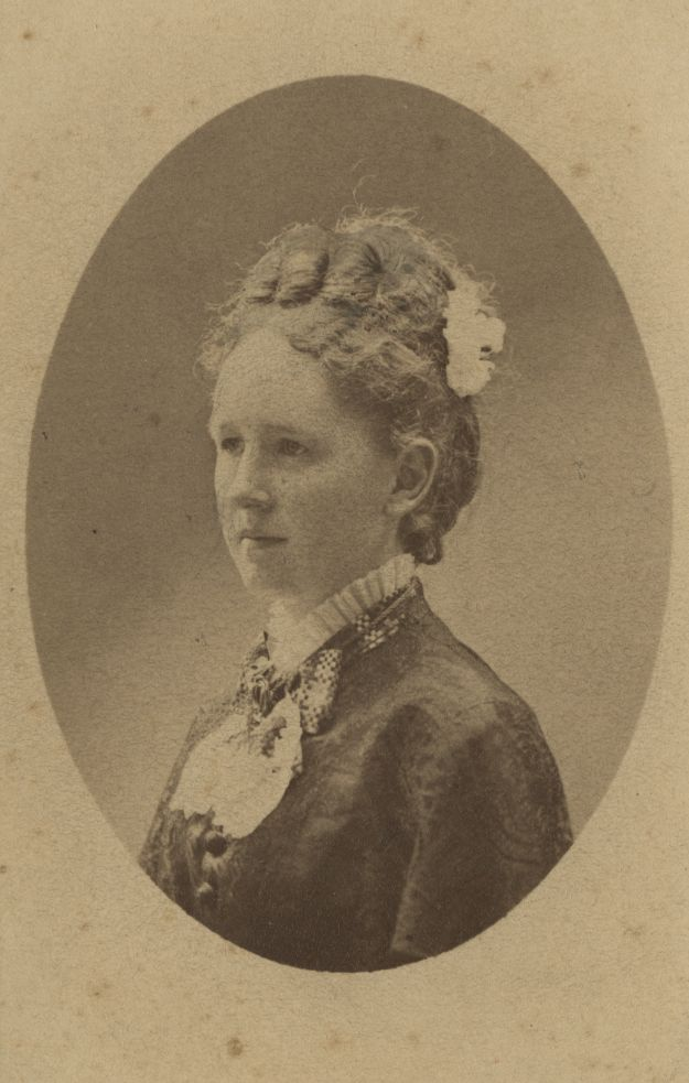 Portrait of Mary Emergency (Pickard) Bell