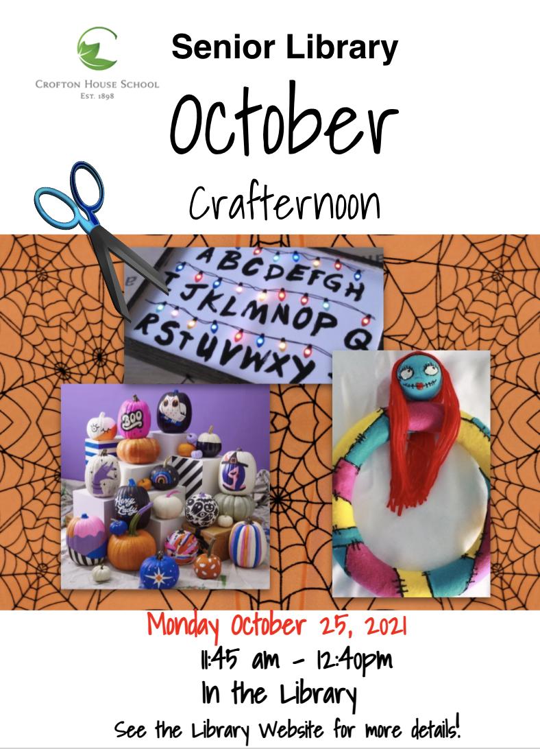 Halloween Crafternoon 2021