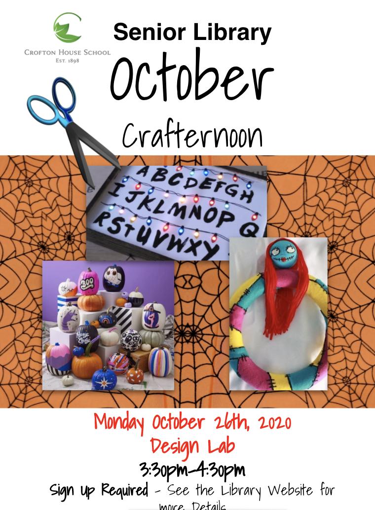 October Crafternoon
