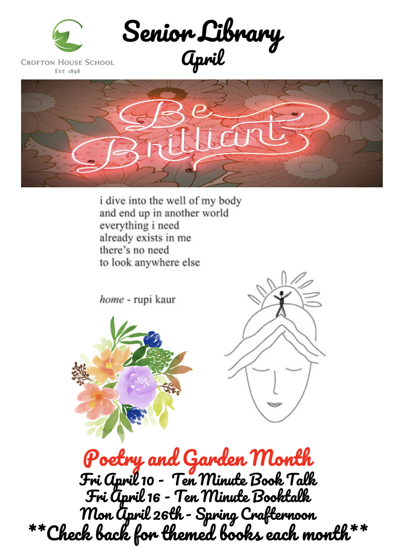 Poetry and Garden Month