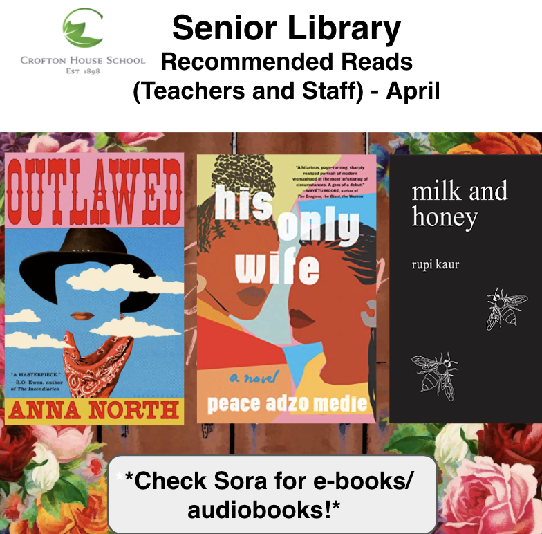 Staff Reads April 2021