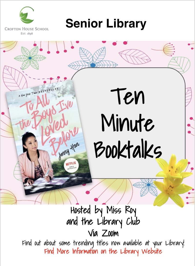 Ten Minute Booktalk