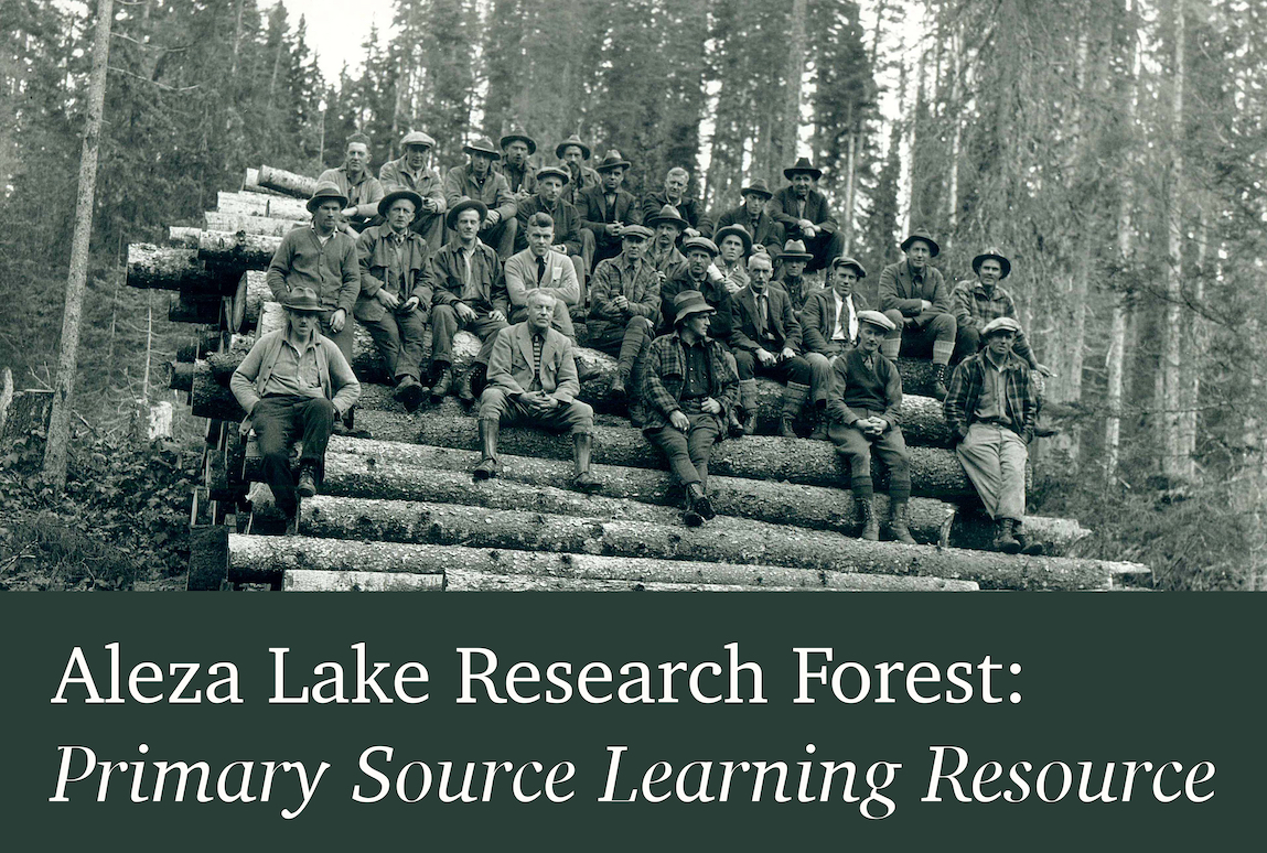 Aleza Lake Research Forest: Learning Resource Title Image