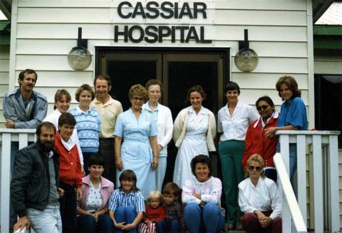 Cassiar Hospital health care staff and others