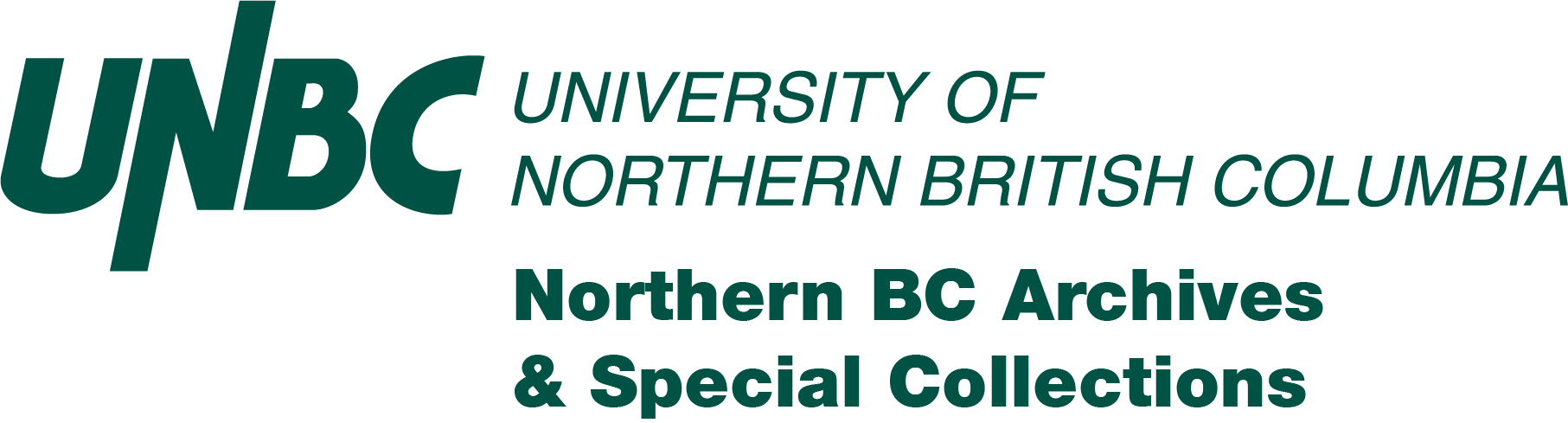 UNBC Northern BC Archives Logo