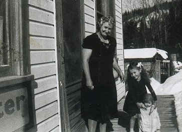 Marge & Her Grandmother, c.1958